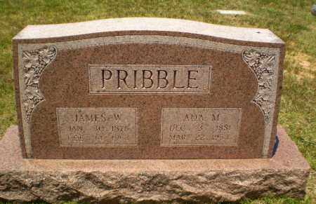 PRIBBLE, ADA M - Craighead County, Arkansas | ADA M PRIBBLE - Arkansas Gravestone Photos