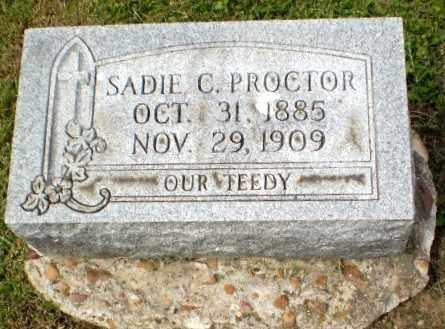PROCTOR, SADIE C - Craighead County, Arkansas | SADIE C PROCTOR - Arkansas Gravestone Photos