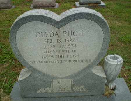 PUGH, OLEDA - Craighead County, Arkansas | OLEDA PUGH - Arkansas Gravestone Photos