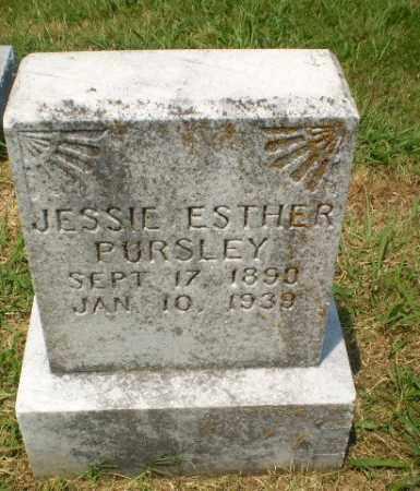PURSLEY, JESSIE ESTHER - Craighead County, Arkansas | JESSIE ESTHER PURSLEY - Arkansas Gravestone Photos