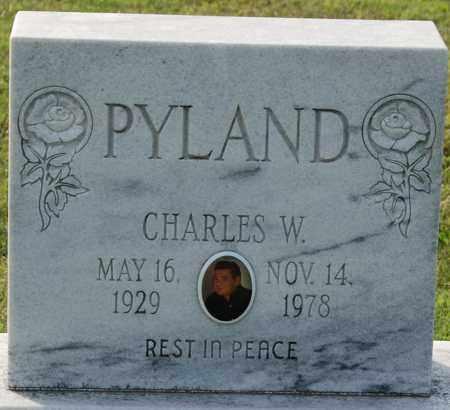 PYLAND, CHARLES W - Craighead County, Arkansas | CHARLES W PYLAND - Arkansas Gravestone Photos