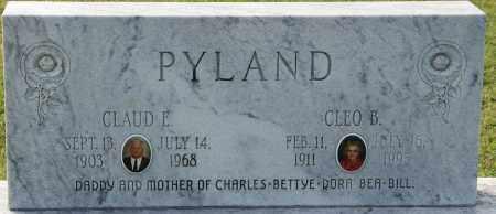 PYLAND, CLAUD E. - Craighead County, Arkansas | CLAUD E. PYLAND - Arkansas Gravestone Photos
