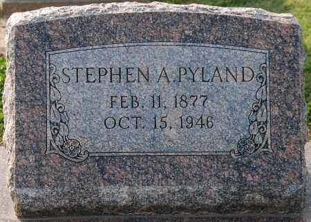 PYLAND, STEPHEN A - Craighead County, Arkansas | STEPHEN A PYLAND - Arkansas Gravestone Photos