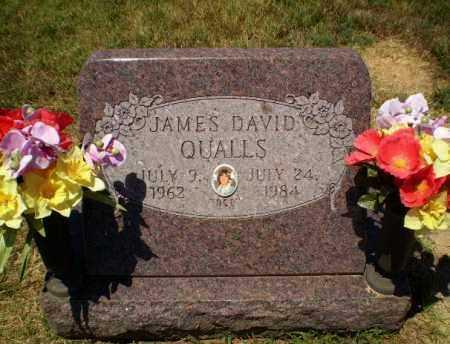 QUALLS, JAMES DAVID - Craighead County, Arkansas | JAMES DAVID QUALLS - Arkansas Gravestone Photos
