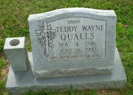 QUALLS, TEDDY WAYNE - Craighead County, Arkansas | TEDDY WAYNE QUALLS - Arkansas Gravestone Photos