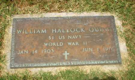 QUINN  (VETERAN WWII), WILLIAM HALLOCK - Craighead County, Arkansas | WILLIAM HALLOCK QUINN  (VETERAN WWII) - Arkansas Gravestone Photos
