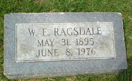 RAGSDALE, W.E. - Craighead County, Arkansas | W.E. RAGSDALE - Arkansas Gravestone Photos