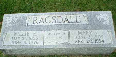 RAGSDALE, MARY L - Craighead County, Arkansas | MARY L RAGSDALE - Arkansas Gravestone Photos