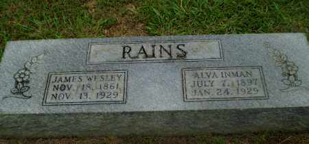 RAINS, ALVA - Craighead County, Arkansas | ALVA RAINS - Arkansas Gravestone Photos