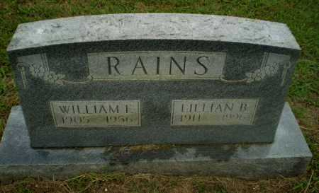 RAINS, WILLIAM F - Craighead County, Arkansas | WILLIAM F RAINS - Arkansas Gravestone Photos