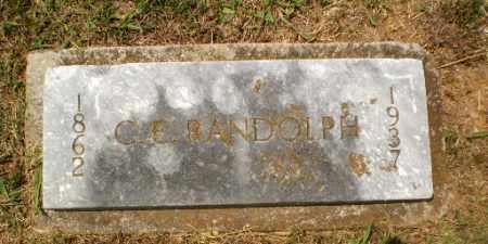 RANDOLPH, C.E. - Craighead County, Arkansas | C.E. RANDOLPH - Arkansas Gravestone Photos