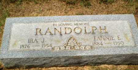 RANDOLPH, FANNIE E. - Craighead County, Arkansas | FANNIE E. RANDOLPH - Arkansas Gravestone Photos