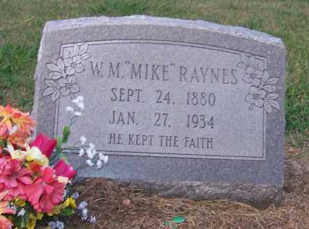 "RAYNES, W.M. ""MIKE"" - Craighead County, Arkansas 