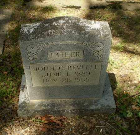 REVELLE, JOHN C - Craighead County, Arkansas | JOHN C REVELLE - Arkansas Gravestone Photos