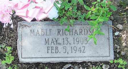 RICHARDSON, MABLE - Craighead County, Arkansas | MABLE RICHARDSON - Arkansas Gravestone Photos