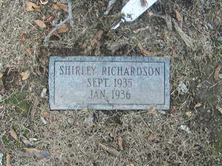 RICHARDSON, SHIRLEY - Craighead County, Arkansas | SHIRLEY RICHARDSON - Arkansas Gravestone Photos
