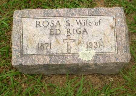 RIGA, ROSA S - Craighead County, Arkansas | ROSA S RIGA - Arkansas Gravestone Photos