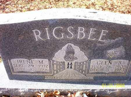 RIGSBEE, GLEN  B. - Craighead County, Arkansas | GLEN  B. RIGSBEE - Arkansas Gravestone Photos