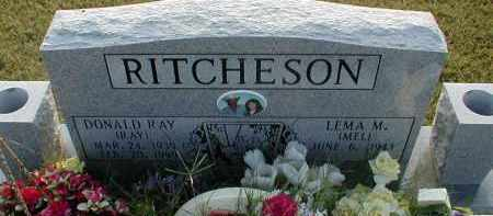 RITCHESON, DONALD RAY - Craighead County, Arkansas | DONALD RAY RITCHESON - Arkansas Gravestone Photos