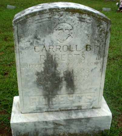 ROBERTS  (VETERAN), CARROLL B - Craighead County, Arkansas | CARROLL B ROBERTS  (VETERAN) - Arkansas Gravestone Photos