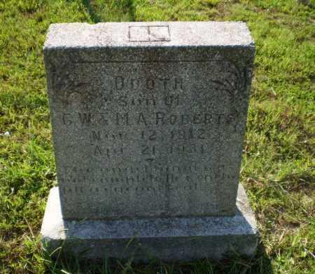 ROBERTS, ODOTH - Craighead County, Arkansas | ODOTH ROBERTS - Arkansas Gravestone Photos