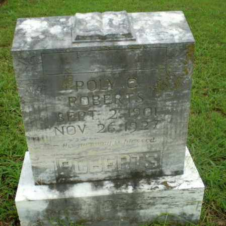 ROBERTS, POLY C. - Craighead County, Arkansas | POLY C. ROBERTS - Arkansas Gravestone Photos