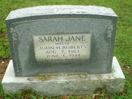ROBERTS, SARAH JANE - Craighead County, Arkansas | SARAH JANE ROBERTS - Arkansas Gravestone Photos