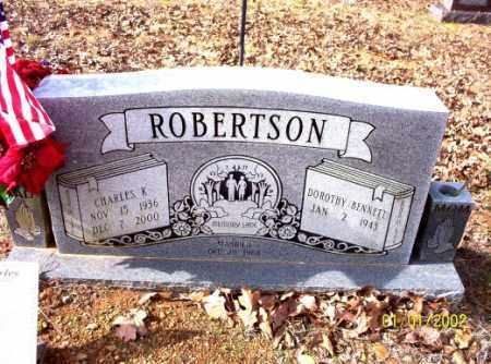ROBERTSON, CHARLES - Craighead County, Arkansas | CHARLES ROBERTSON - Arkansas Gravestone Photos