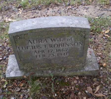 ROBINSON, AURA - Craighead County, Arkansas | AURA ROBINSON - Arkansas Gravestone Photos