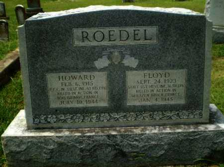 ROEDEL  (VETERAN WWII, KIA), HOWARD - Craighead County, Arkansas | HOWARD ROEDEL  (VETERAN WWII, KIA) - Arkansas Gravestone Photos
