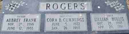 CUMMINGS, CORA B - Craighead County, Arkansas | CORA B CUMMINGS - Arkansas Gravestone Photos
