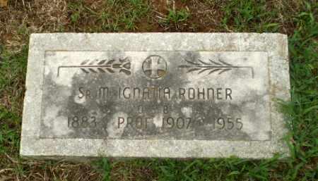 ROHNER, SISTER M. IGNALIA - Craighead County, Arkansas | SISTER M. IGNALIA ROHNER - Arkansas Gravestone Photos
