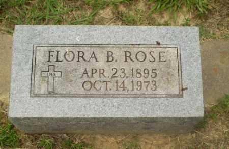 ROSE, FLORA B - Craighead County, Arkansas | FLORA B ROSE - Arkansas Gravestone Photos