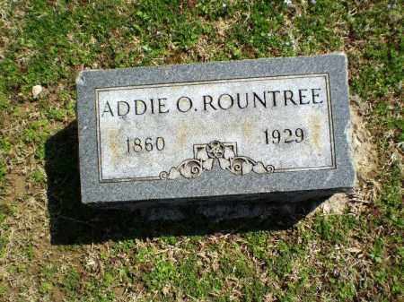 ROUNDTREE, ADDIE O - Craighead County, Arkansas | ADDIE O ROUNDTREE - Arkansas Gravestone Photos