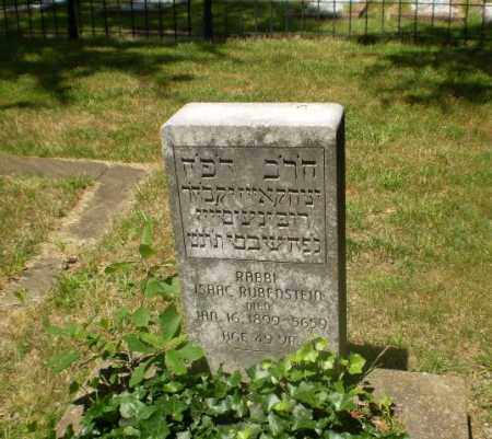 RUBENSTEIN, RABBI ISAAC - Craighead County, Arkansas | RABBI ISAAC RUBENSTEIN - Arkansas Gravestone Photos