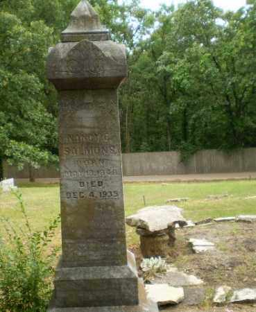 SALMONS, NANCY E - Craighead County, Arkansas | NANCY E SALMONS - Arkansas Gravestone Photos