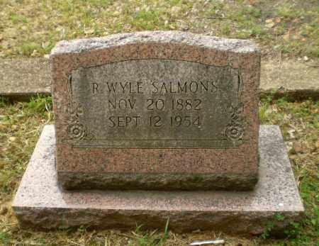 SALMONS, R. WYLE - Craighead County, Arkansas | R. WYLE SALMONS - Arkansas Gravestone Photos