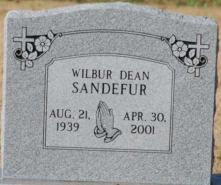 SANDEFUR, WILBUR DEAN - Craighead County, Arkansas | WILBUR DEAN SANDEFUR - Arkansas Gravestone Photos