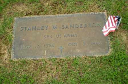 SANDERSON  (VETERAN), STANLEY M - Craighead County, Arkansas | STANLEY M SANDERSON  (VETERAN) - Arkansas Gravestone Photos