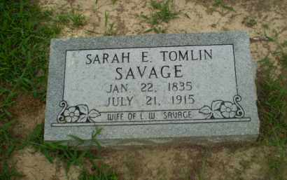 SAVAGE, SARAH E - Craighead County, Arkansas | SARAH E SAVAGE - Arkansas Gravestone Photos