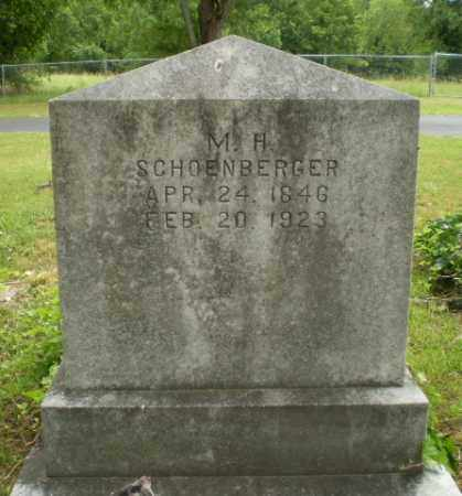 SCHOENBERGER, M.H. - Craighead County, Arkansas | M.H. SCHOENBERGER - Arkansas Gravestone Photos