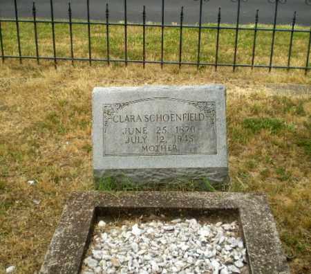 SCHOENFIELD, CLARA - Craighead County, Arkansas | CLARA SCHOENFIELD - Arkansas Gravestone Photos