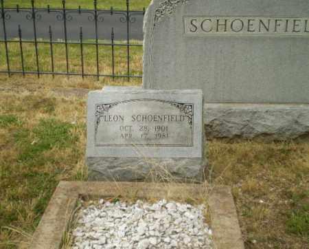 SCHOENFIELD, LEON - Craighead County, Arkansas | LEON SCHOENFIELD - Arkansas Gravestone Photos