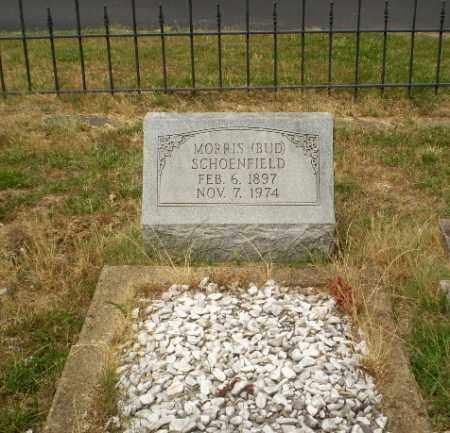 "SCHOENFIELD, MORRIS ""BUD"" - Craighead County, Arkansas | MORRIS ""BUD"" SCHOENFIELD - Arkansas Gravestone Photos"