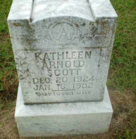 ARNOLD SCOTT, KATHLEEN - Craighead County, Arkansas | KATHLEEN ARNOLD SCOTT - Arkansas Gravestone Photos