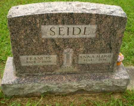SEIDL, FRANCIS - Craighead County, Arkansas | FRANCIS SEIDL - Arkansas Gravestone Photos