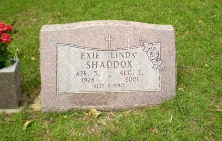 "SHADDOX, EXIE ""LINDA"" - Craighead County, Arkansas | EXIE ""LINDA"" SHADDOX - Arkansas Gravestone Photos"