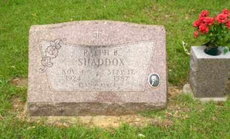 SHADDOX, RALPH - Craighead County, Arkansas | RALPH SHADDOX - Arkansas Gravestone Photos
