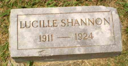 SHANNON, LUCILLE - Craighead County, Arkansas | LUCILLE SHANNON - Arkansas Gravestone Photos