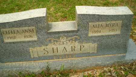 SHARP, CLELLA ANNE - Craighead County, Arkansas | CLELLA ANNE SHARP - Arkansas Gravestone Photos